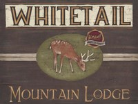 Lodge Sign VI Fine Art Print