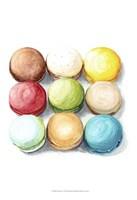 9 Macarons Fine Art Print