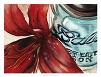 Ball Jar Flower II Fine Art Print
