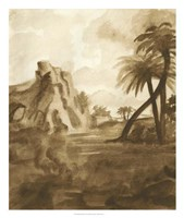 British Tropics II Framed Print