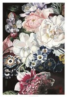 Baroque Botanica I Framed Print