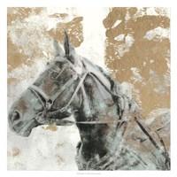Driving Horses I Framed Print