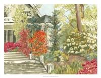 Plein Air Garden I Fine Art Print