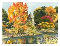 Plein Air Garden II Fine Art Print