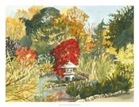 Plein Air Garden III Fine Art Print