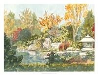 Plein Air Garden IV Fine Art Print
