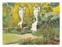 Plein Air Garden V Fine Art Print
