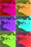 Racing Ferrari Pop Art 3 Fine Art Print