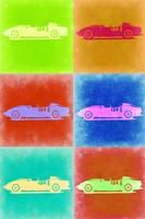 Classic Ferrari Pop Art 2 Fine Art Print