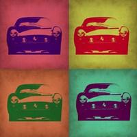 Ferrari Pop Art 1 Fine Art Print