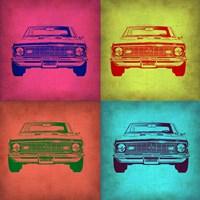 Chevy Camaro Pop Art 1 Fine Art Print