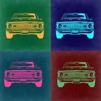 Chevy Camaro Pop Art 2 Fine Art Print