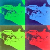 Racing Ferrari Pop Art 2 Fine Art Print