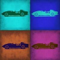 Classic Ferrari Pop Art 1 Fine Art Print