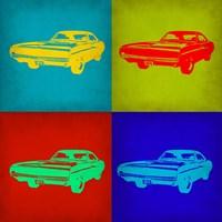 Dodge Charger Pop Art 1 Fine Art Print