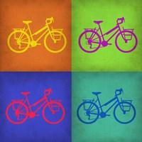 Vintage Bicycle Pop Art 1 Fine Art Print