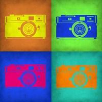 Camera Pop Art 1 Fine Art Print