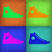 Shoe Pop Art 1 Fine Art Print