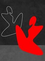 Red Girl 1 Framed Print
