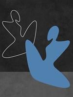 Blue Girl Fine Art Print