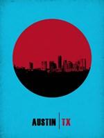 Austin Circle 1 Fine Art Print