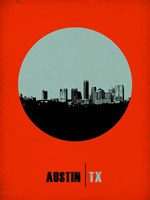 Austin Circle 2 Fine Art Print