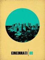 Cincinnati Circle 2 Fine Art Print