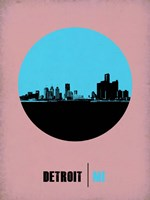 Detroit Circle 1 Fine Art Print