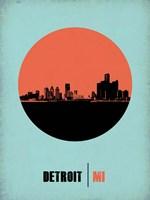 Detroit Circle 2 Fine Art Print