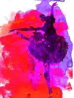 Ballerina Watercolor 3 Fine Art Print