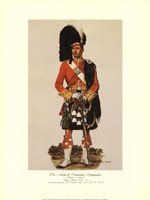 Argyll & Sutherland Highlanders Fine Art Print