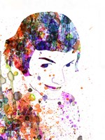 Amelie Watercolor Fine Art Print
