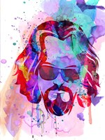 Dude Watercolor Fine Art Print