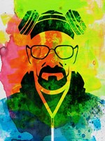 Walter White Watercolor 1 Fine Art Print