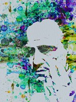 Godfather Watercolor Fine Art Print