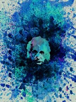 Einstein Watercolor 2 Fine Art Print