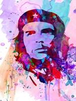 Che Guevara Watercolor 2 Fine Art Print