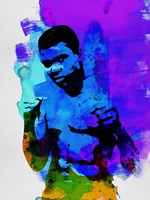 Ali Watercolor Fine Art Print
