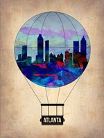 Atlanta Air Balloon Fine Art Print
