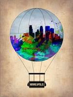 Minneapolis Air Balloon Fine Art Print