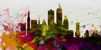 Boston City Skyline Fine Art Print