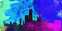 Chicago City Skyline Fine Art Print