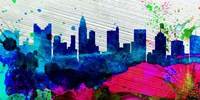 Columbus City Skyline Fine Art Print
