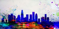Los Angeles City Skyline Fine Art Print