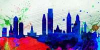 Philadelphia City Skyline Fine Art Print