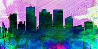 Phoenix City Skyline Fine Art Print