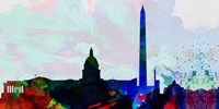 Washington DC City Skyline 2 Fine Art Print