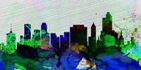 Tulsa City Skyline Fine Art Print