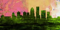 Louisville City Skyline Fine Art Print