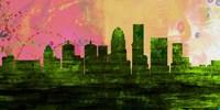 Louisville City Skyline Fine Art Print